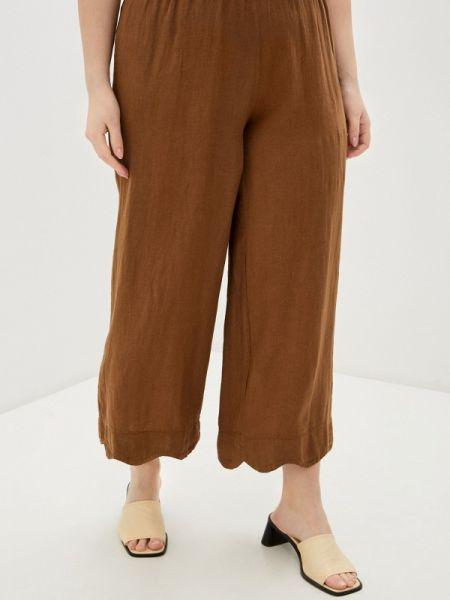 Коричневые брюки с воротником Sophia