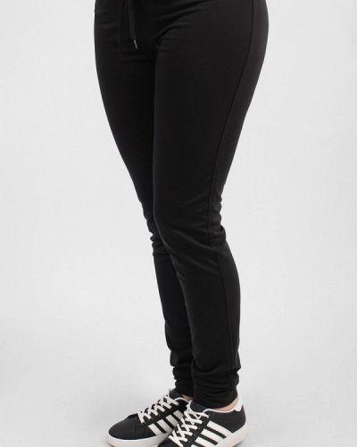 Спортивные брюки черные весенний Sab