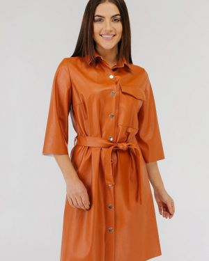 Платье - оранжевое Vsv