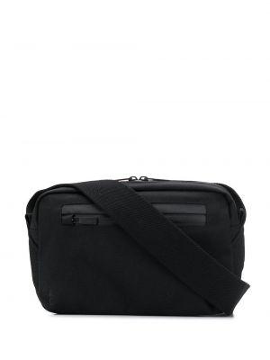 Черная нейлоновая поясная сумка с помпоном Ally Capellino