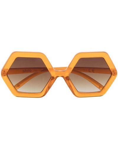 Оранжевые солнцезащитные очки Molo Kids