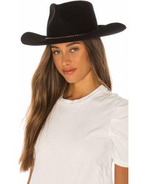 Czarny kapelusz wełniany Brixton