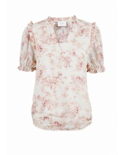 Biała bluzka w kwiaty Neo Noir