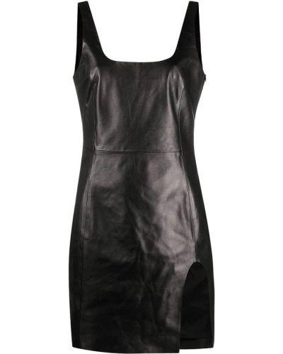 Czarna sukienka Drome