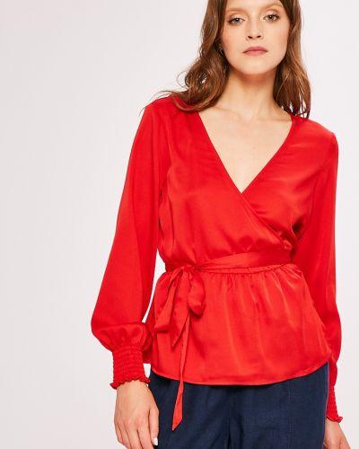 Блузка с запахом с вырезом Vero Moda