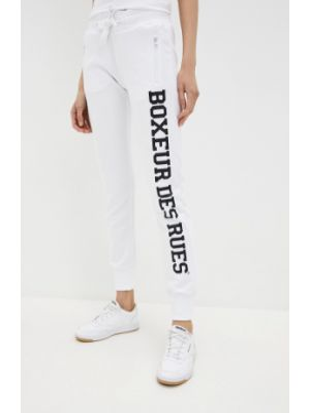 Спортивные белые спортивные брюки Boxeur Des Rues