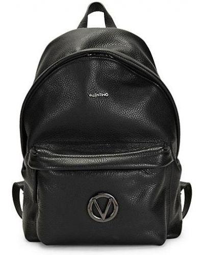 С ремешком черный рюкзак из натуральной кожи Valentino By Mario Valentino