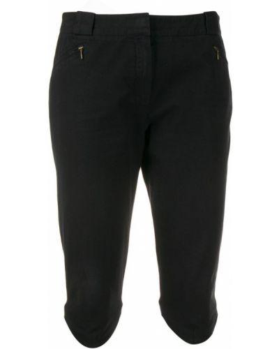 Черные шорты с карманами на пуговицах Givenchy Pre-owned
