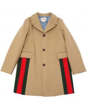 Płaszcz wełniany Gucci