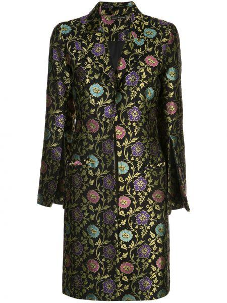 Пальто классическое с капюшоном на пуговицах Josie Natori