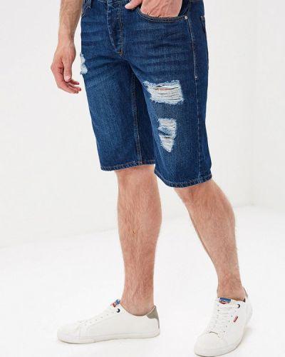 Джинсовые шорты синий Tiffosi