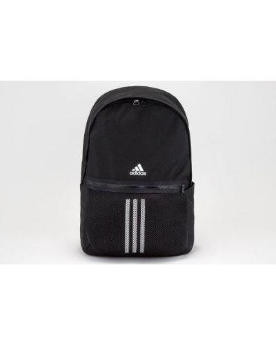 Czarny plecak szkolny w paski Adidas