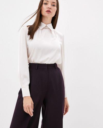 Бежевая блузка с длинным рукавом с длинными рукавами Gregory