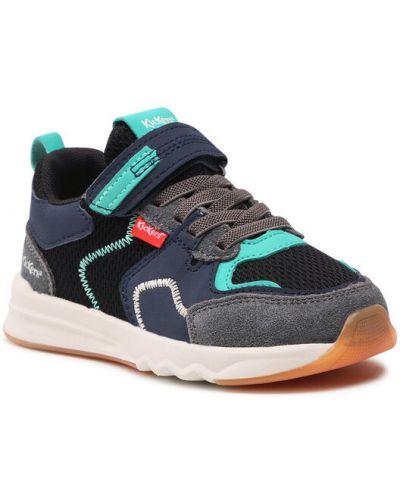 Czarne sneakersy Kickers