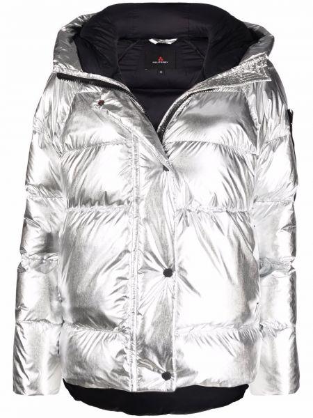 Дутая куртка - серебряная Peuterey