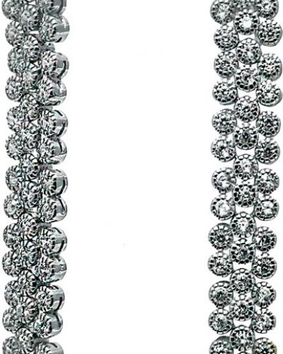 Серебряные серьги удлиненные вечерние Silver Wings