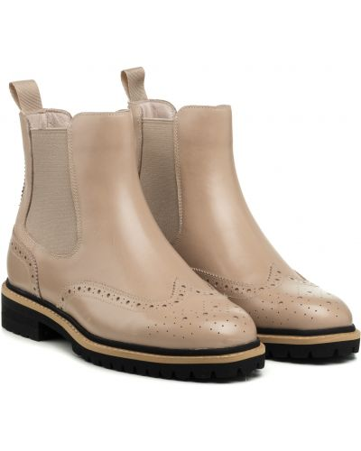 Ботинки - бежевые Anemone