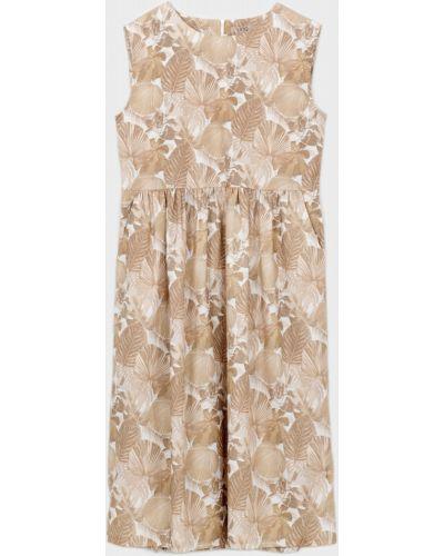 Платье - бежевое Unq