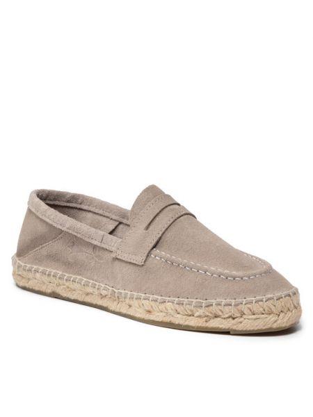 Loafers - szare Manebi