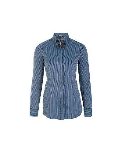 Хлопковая рубашка - синяя Alter Ego