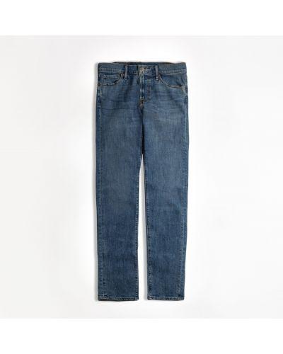 Зауженные джинсы - синие Abercrombie & Fitch