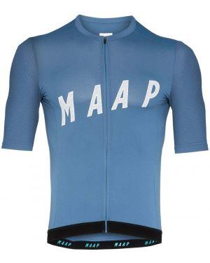 Базовая серебряная спортивная футболка Maap