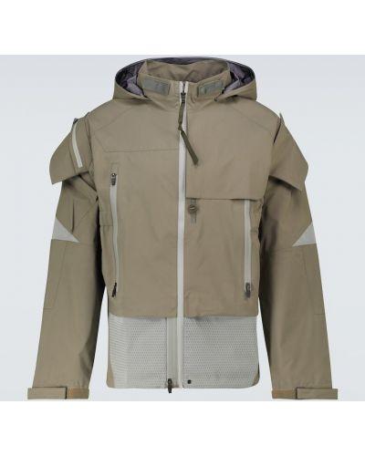Куртка с капюшоном - зеленая Acronym