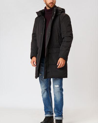 Черное пальто Finn Flare