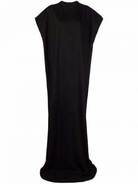 Платье макси длинное - черное Rick Owens Drkshdw