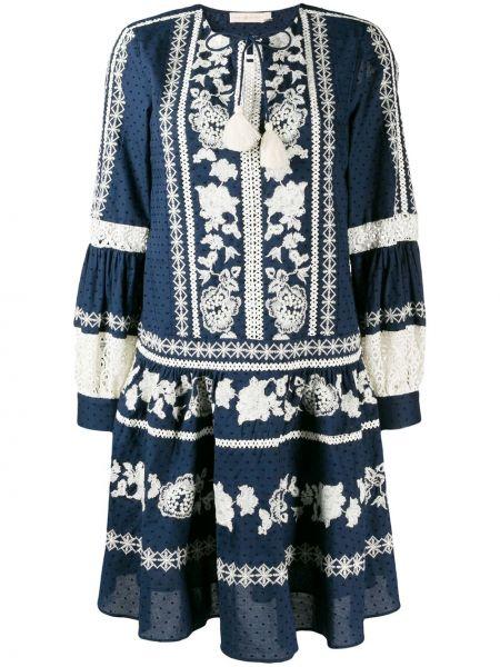 Платье в стиле бохо с кисточками Tory Burch