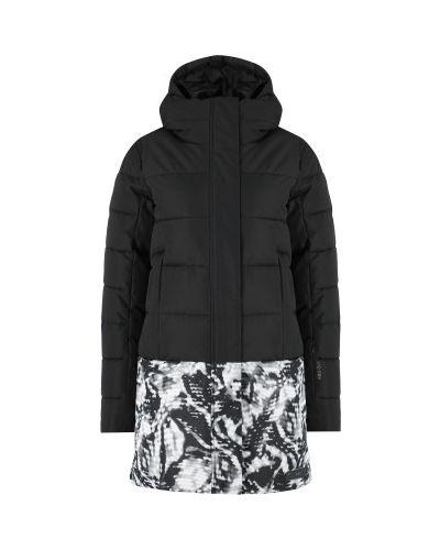 Куртка с капюшоном - черная Glissade
