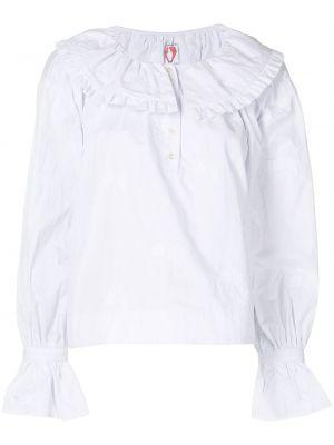 Белая блузка с воротником Shrimps