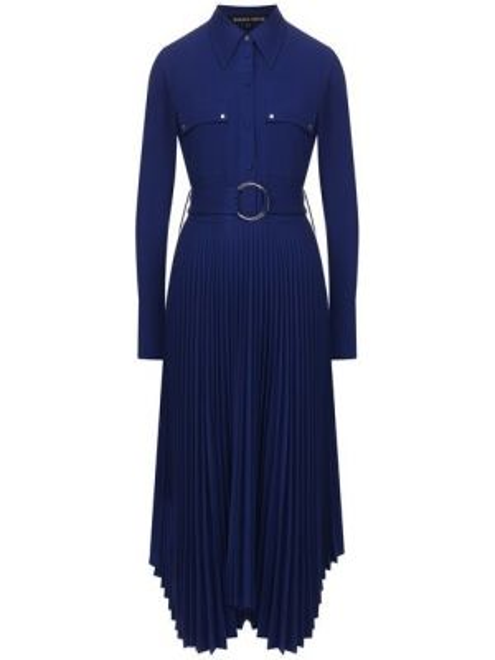 Платье миди на пуговицах с поясом Markus Lupfer