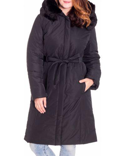 Куртка с капюшоном с мехом с поясом Lacywear