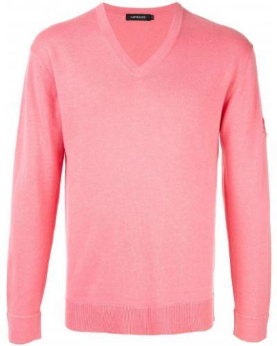 Розовый свитер узкого кроя Loveless