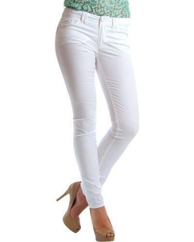 Белые брюки Armani Jeans