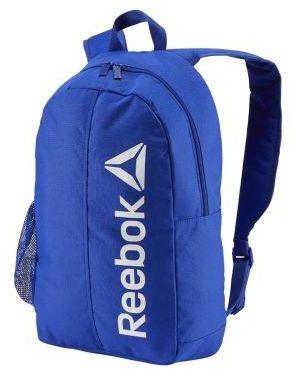Niebieski sport plecak w paski Reebok