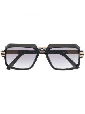 Złote czarne okulary Cazal