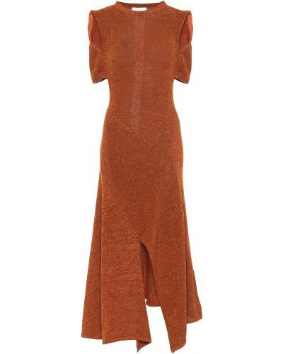 Вязаное платье макси Chloé