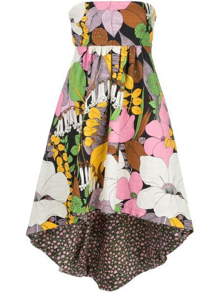 Платье с цветочным принтом ампир La Doublej