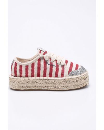 Эспадрильи детский текстильный Pepe Jeans