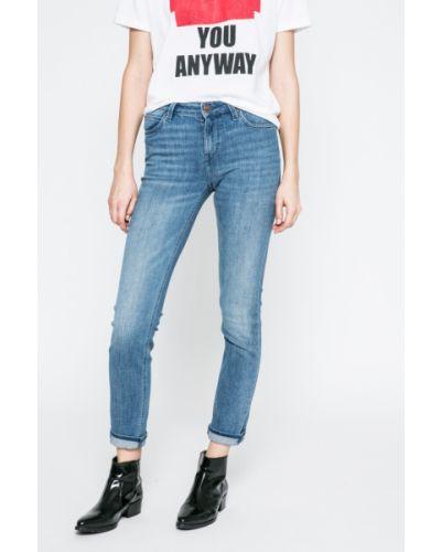 Прямые джинсы слим фит синие Lee