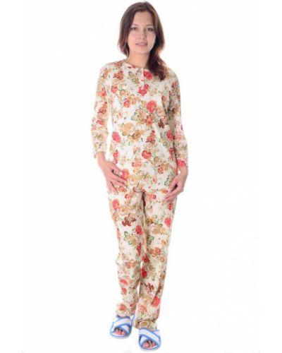 Пижама с брюками хлопковая с карманами Грандсток