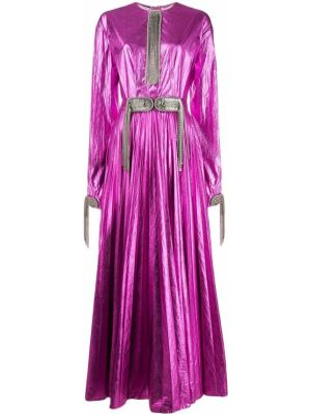 Sukienka dla wysokich kobiet z długim rękawem Christopher Kane