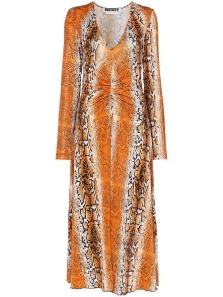 Платье мини миди со складками Rotate