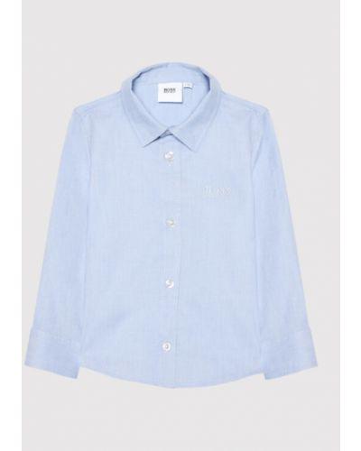 Koszula - niebieska Boss