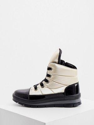 Высокие ботинки - золотые Jog Dog