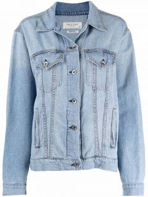 Синяя куртка классическая Rag & Bone