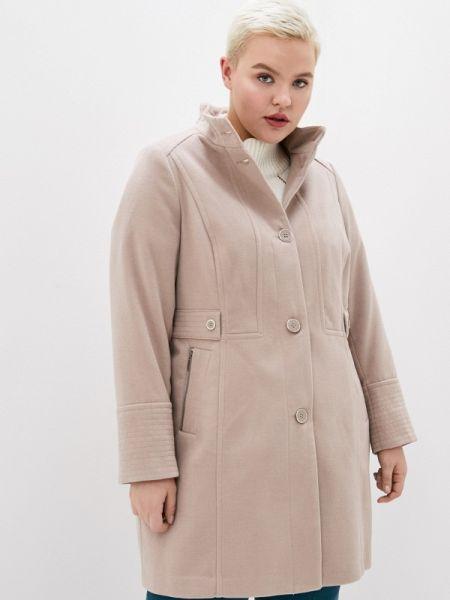 Пальто демисезонное бежевое Evans