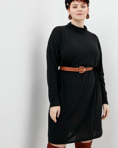 Черное платье-свитер Evans
